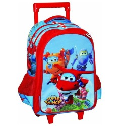 Rolling Backpack Super Wings 43 CM - Trolley