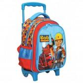 Sac à roulettes maternelle Bob le bricoleur 31 CM - Cartable Trolley