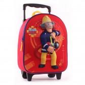 Sac à roulettes Sam le pompier 31 CM maternelle - Cartable