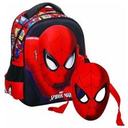 Mochila escolar materna Spiderman Eyes 31 CM