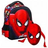 Mütterliche Spiderman Comics 31 CM - Ranzen Tasche trolley Rollen