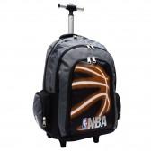 Binder NBA basketbal 45 CM zwarte Neon high-end wielen