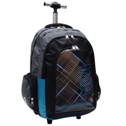 Rolling Backpack NBA Basketball Black National 45 CM