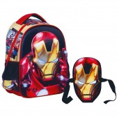 Sac à dos maternelle IRON MAN 31 CM - Cartable Avengers