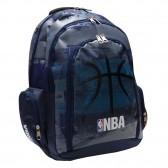Sac à dos NBA 45 CM Haut de Gamme - Collection Blak Ball