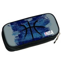 NBA zwarte bal 21 CM - 2 Cpt ovaal Kit