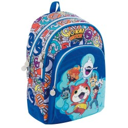 Sac à dos Yo-kai Watch Team 44 CM Ergonomique - 2 Cpt - YOKAI