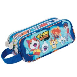 Trousse Yo-kai Watch Team 23 CM - 3 compartiments - YOKAI