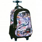Rolling No Fear Wagon 48 CM type satchel tas