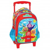 Sac à roulettes trolley maternelle Teletubbies 31 CM - Cartable