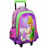 Tinkerbell rolling bag Rose 43 CM HIGH END