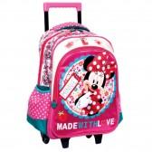 Mochila con ruedas Trolley escolar Minnie Love 43 CM - Bolsa