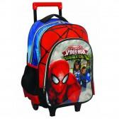 Mochila con ruedas Trolley escolar Spiderman Warriors 43 CM - Bolsa