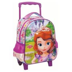 Sac à roulettes trolley maternelle Princesse Sofia Fun 31 CM - Cartable