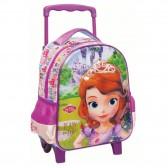 Mochila con ruedas Trolley escolar materna Princesa Sofia 31 CM - bolsa