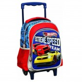 Sac à roulettes Hot Wheels trolley maternelle 31 CM - Cartable
