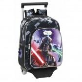 Sac à roulettes Star Wars Saga 34 CM maternelle - Cartable