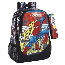 Sac à dos Spiderman Comics 44 CM Haut de Gamme