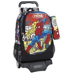 Sac à roulettes Spiderman Comics 44 CM Haut de Gamme