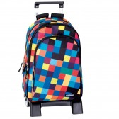 Backpack skateboard Longboard Los Angeles 43 CM trolley premium - Binder