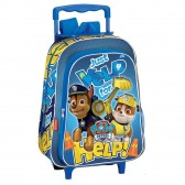 Backpack skateboard maternal Paw Stars 37 CM trolley - Binder Pat patrol Patrol