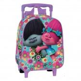 Mochila con ruedas Trolley escolar materna Trolls Poppy Happy 28 CM - Bolsa