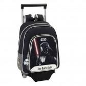 Sac à roulettes Star Wars Dark Vador 34 CM maternelle Haut de gamme - Cartable