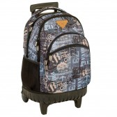 Backpack on wheels Post 45 cm high-end - 3 cpt - Binder