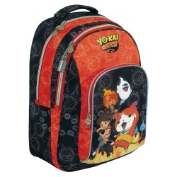 Sac à dos Yo-kai Watch Fire 45 CM Ergonomique - 2 Cpt - YOKAI