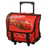 Cartable à roulettes Cars Rouge 38 CM