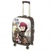 Valise Betty Boop Train 55 CM