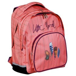 Backpack Little Marcel feathers 43 CM - 2 cpt