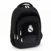 Sac à dos Real Madrid Black Pure 45 CM Haut de Gamme - 4 Cpt