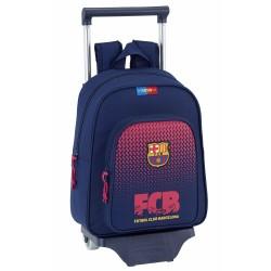 Sac à roulettes FC Barcelone Corporate 34 CM maternelle Haut de Gamme - Cartable FCB