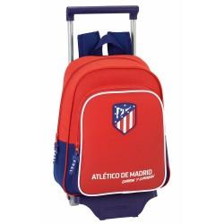 Sac à roulettes Atlético de Madrid Coraje 34 CM maternelle Haut de Gamme - Cartable FCB