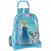 Sac à roulettes Reine des neiges Frozen Evolution Aventure 43 CM Haut de Gamme - Cartable trolley