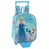 Sac à roulettes La reine des neiges Frozen 28 CM maternelle Haut de Gamme - Cartable