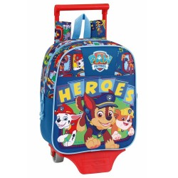 Rolling Backpack Paw Patrol Heroes 28 CM Maternal Premium Trolley