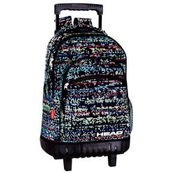 Rolling Backpack Head Digital 46 CM Premium Trolley