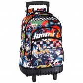 Rugzak met wielen Moto GP warme 42 CM trolley premium - Binder