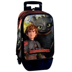 Rolling Backpack Dragons 42 CM Premium Trolley