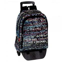 Rolling Backpack Head Digital 42 CM Premium Trolley