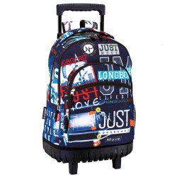 Rolling Backpack Longboard Just Move 46 CM Trolley