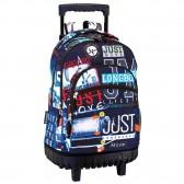 Rugzak skateboard hoofd digitale 46 CM trolley premium - Binder