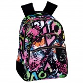43 CM - 2 Cpt Cherry backpack