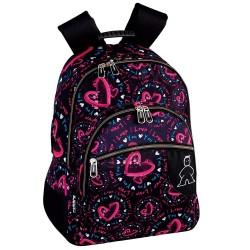 Megan 43 CM - 3 Cpt backpack