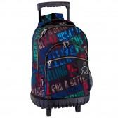 Backpack skateboard Queen 46 CM trolley premium - Binder