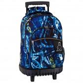 Backpack skateboard Oxford 46 CM trolley premium - Binder