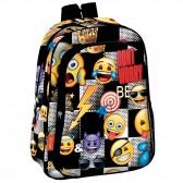 Sac à dos Emoji Sticker 37 CM maternelle