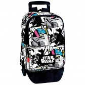 Backpack skateboard Star Wars The Force 43 CM trolley premium - Binder